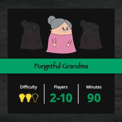 Forgetful grandma