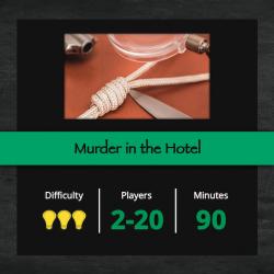 Murder in the hotel